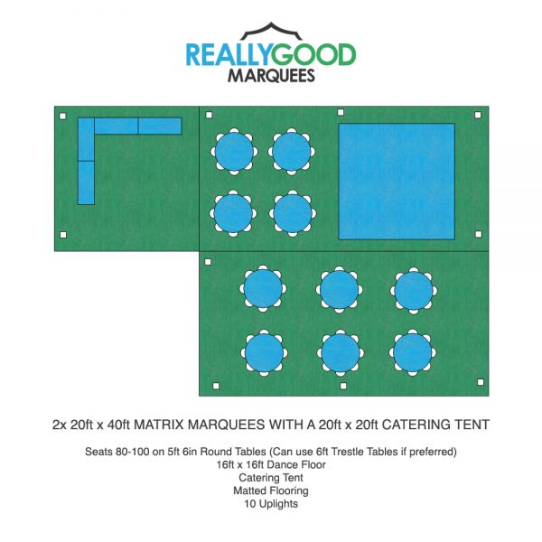 Matrix & Hex Marquee Floorplan Example